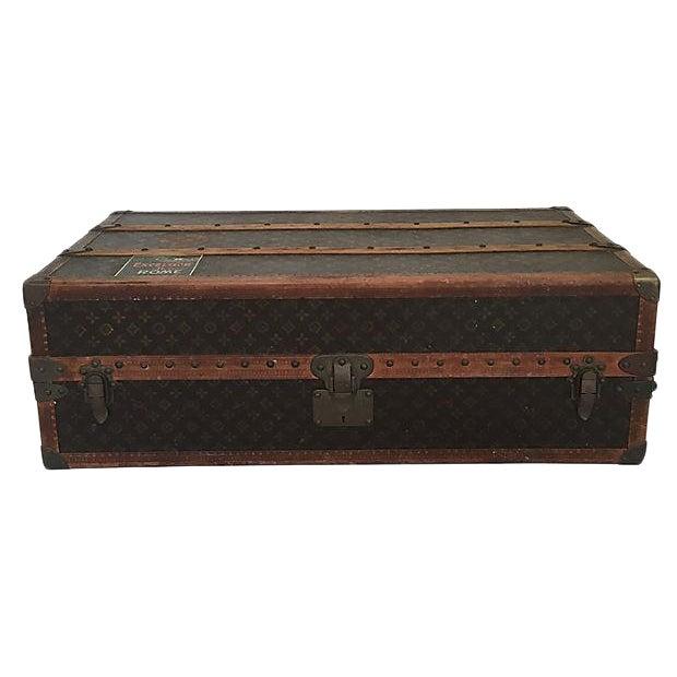 Louis Vuitton Wardrobe Trunk, Circa 1920s For Sale