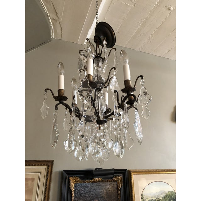 Vintage Petite Marie Therese Crystal Chandelier For Sale - Image 9 of 9