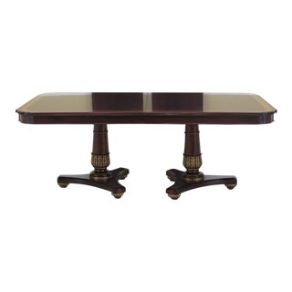 Modern Henkel Harris Model 2213 Mahogany Dining Table For Sale