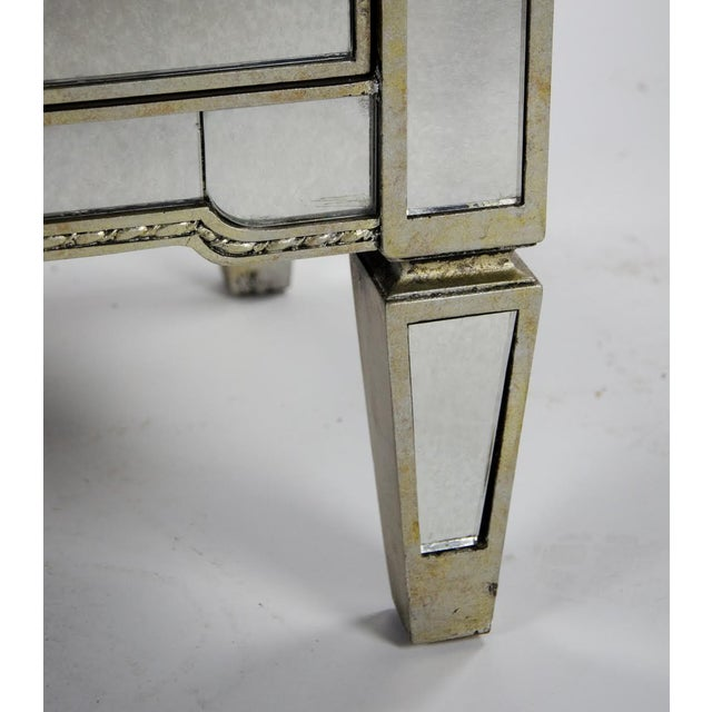 20th Century French 3-Drawer Mirrored Commode For Sale - Image 12 of 13