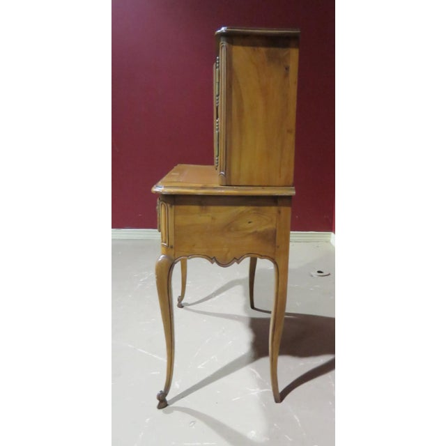 19th C. Country French Writing Desk For Sale - Image 9 of 13
