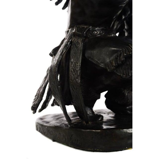 Bronze Bettie Moran - Raven Dancer - Native American Indian Bronze Sculpture For Sale - Image 7 of 11