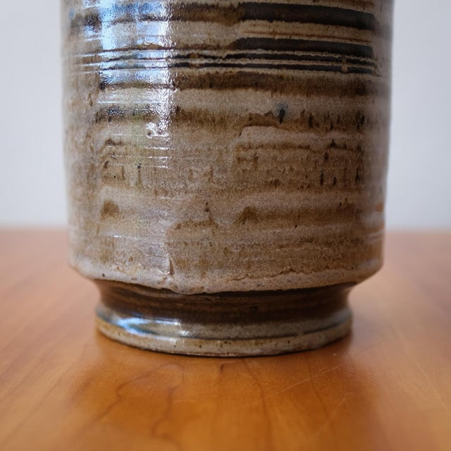 1950s Ward Youry Ceramic Vase, 1950s For Sale - Image 5 of 8