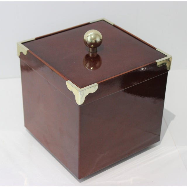 MId-Century Modern Georges Briard Collections Limited Designs Ice Bucket For Sale - Image 10 of 13