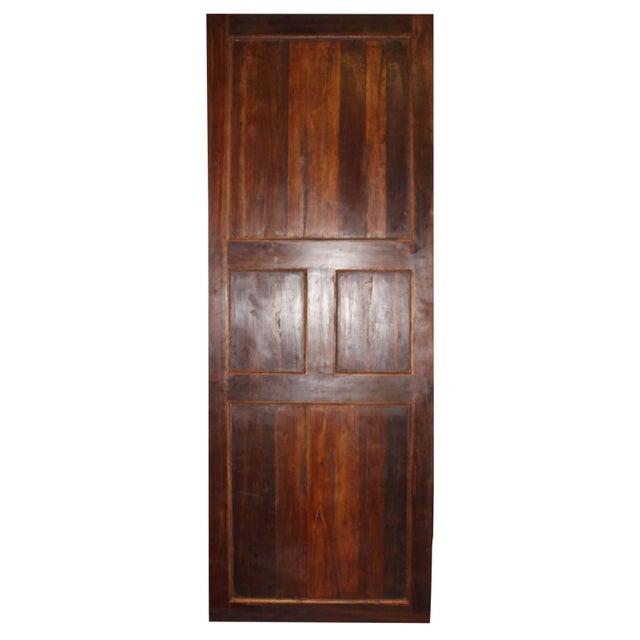 Rustic 19th Century Vintage Rustic Wood Door For Sale - Image 3 of 7
