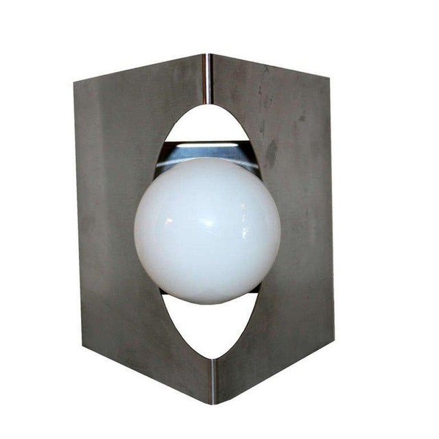 Mid-Century Modern Modernist Pair of European Wall Sconces For Sale - Image 3 of 6