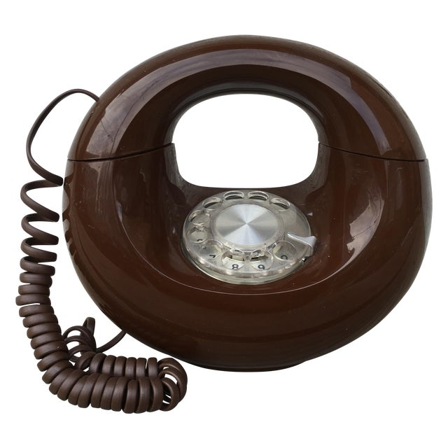 Midcentury Western Electric Donut Touch Tone Phone - Image 1 of 7