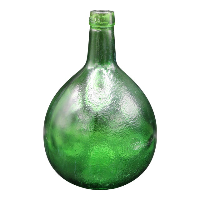 Antique French Demijohn For Sale