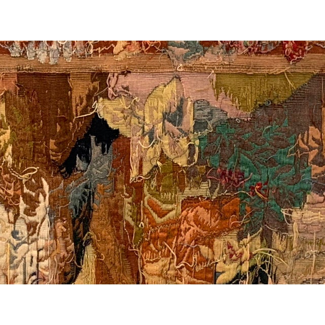Late 19th Century French Des Bois Tapestry- 6 X 6' For Sale - Image 10 of 13
