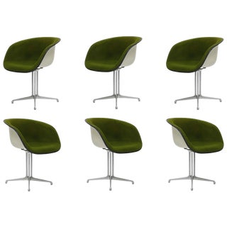 Alexander Girard & Charles Eames La Fonda Swivel Chairs for Herman Miller, 1960s For Sale