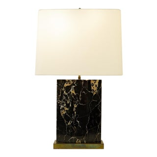 Portor Marble Table Lamp For Sale