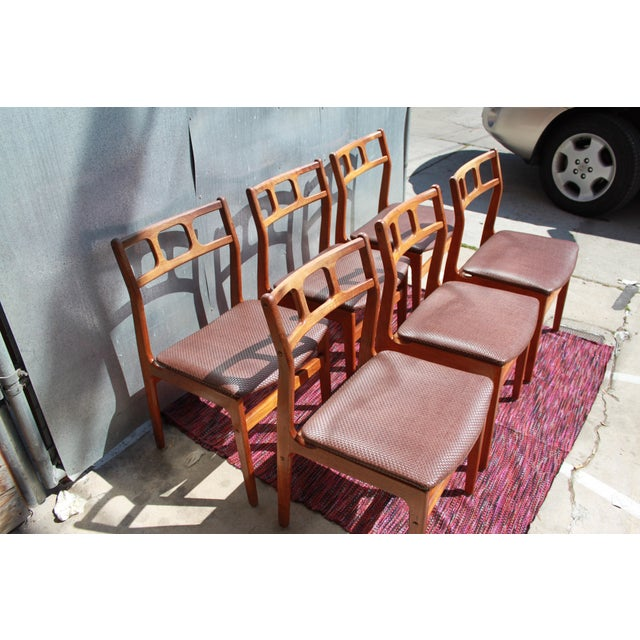 1960s D-Scan Teak Dining Chairs - Image 4 of 9