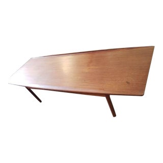 1960s Mid Century Danish Grete Jalk Coffee Table For Sale