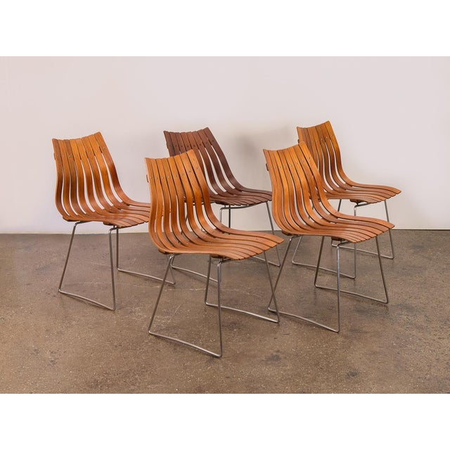 Hans Brattrud Scandia Dining Chairs - Set of 5 For Sale - Image 12 of 12