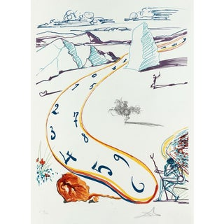 Salvador Dalí­ Melting Space-Time (Imagination & Objects of the Future Portfolio) 1975 For Sale