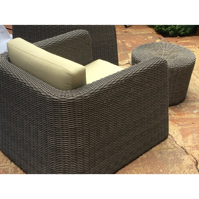 Patio Furniture by Janus Et Cie- 3 Pieces For Sale - Image 10 of 12