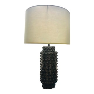 Robert Abbey Dolly Midnight Blue Ceramic Table Lamp For Sale