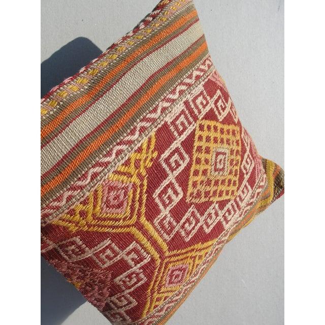 Kilim Rug Pillow For Sale - Image 9 of 11