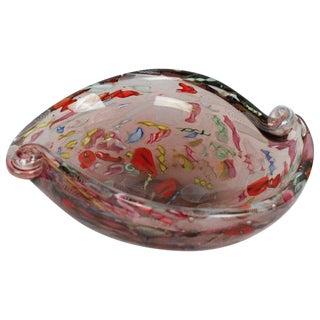 Italian Mid-Century Modern Murano Art Glass Bowl