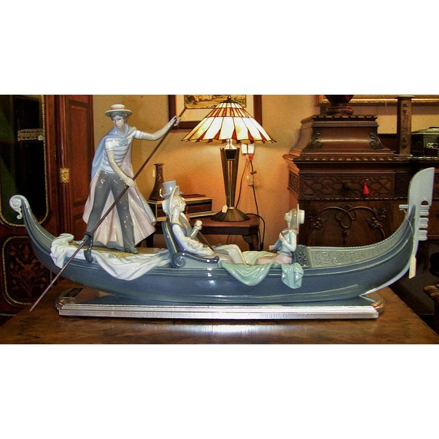 Lladro in the Gondola Signed by Catala and Ruiz For Sale - Image 10 of 10