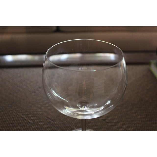 196128a7dab8 Tiffany and Co. Tiffany   Co. Montrachet Burgundy Wine Glasses - Set of