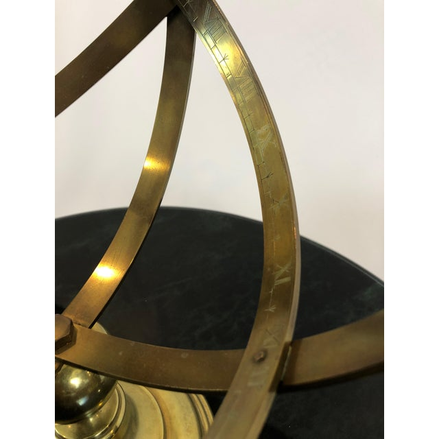 Neoclassical Brass Armillary For Sale In Philadelphia - Image 6 of 10
