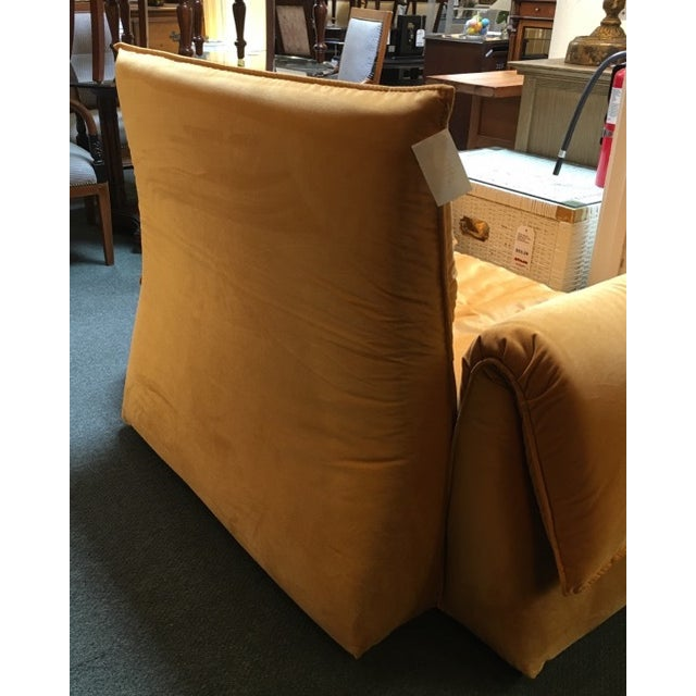 Yellow Saba Italia Lounge Chair For Sale - Image 8 of 8