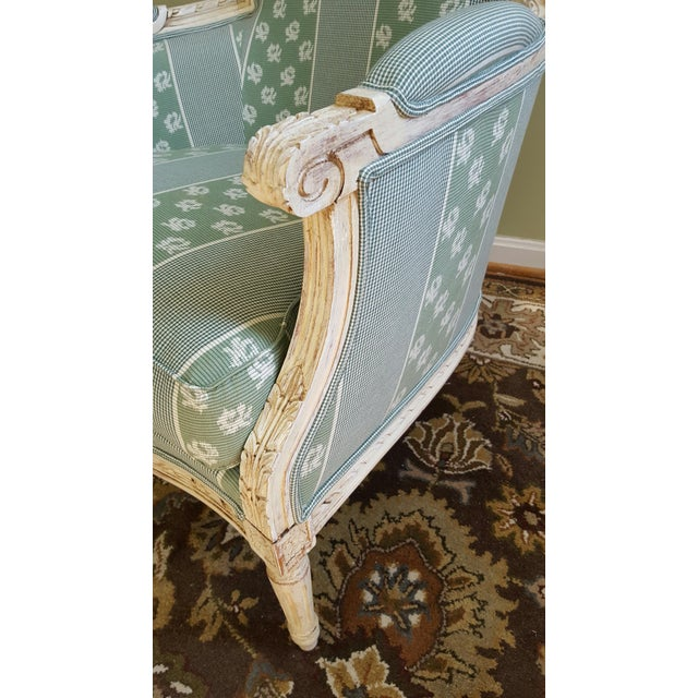 Louis XV Style Bergere Chairs - Pair - Image 3 of 5