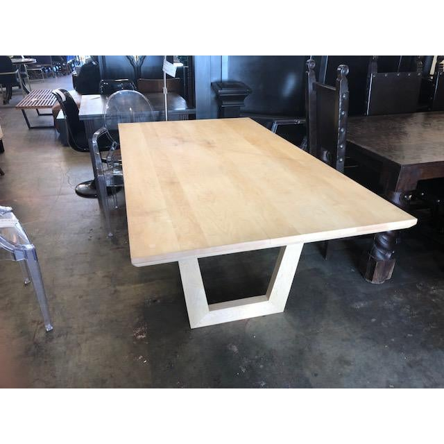 SohoConcept Malibu Oak Dining Table For Sale In Los Angeles - Image 6 of 6