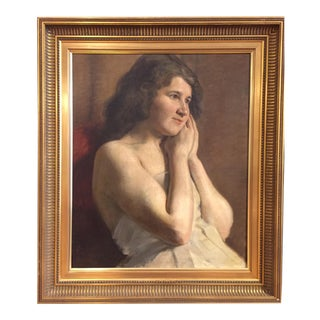Late 19th Century Portrait, Carl Thomsen, Copenhagen For Sale