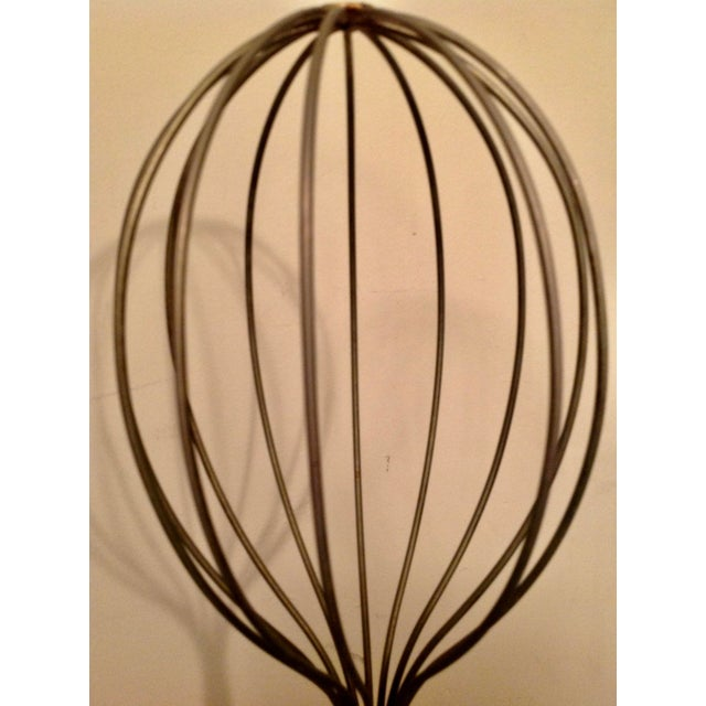 Heavy gauge brass wire tall hat display stand from the 60s. Sculptural and practical. Unique and vintage, a great addition...