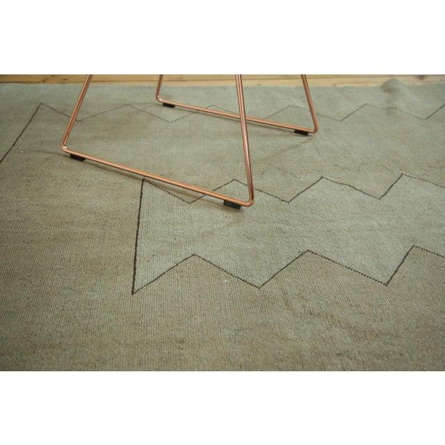 """Vintage Turkish Oushak Carpet - 5'10"""" x 7'10"""" For Sale - Image 5 of 8"""