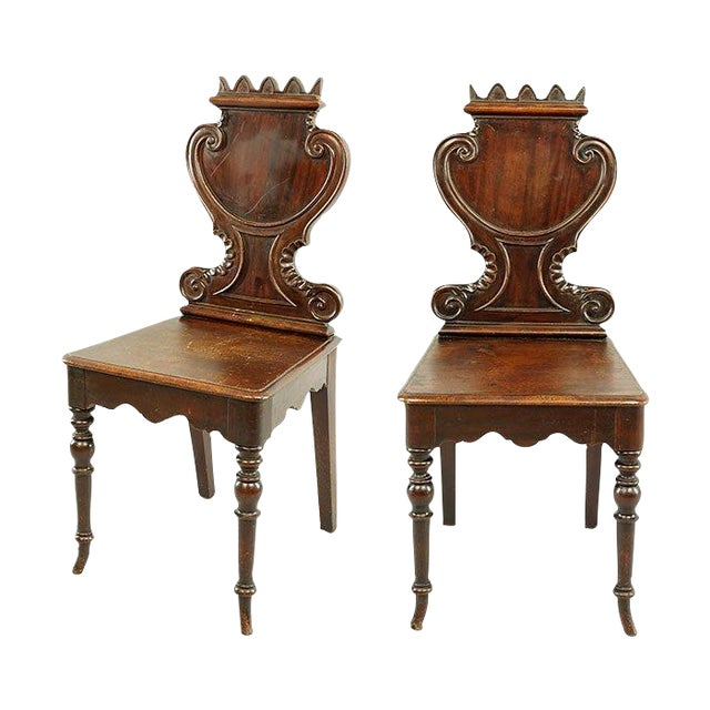 French Continental Chairs - A Pair - Image 1 of 5