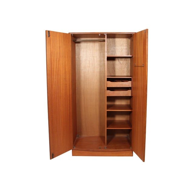 Amazing teak wardrobe by G Plan. Designed in the 60s by Victor Bramwell Wilkins for G Plan's Fresco Range. Danish Modern...