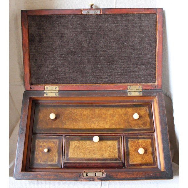 Tunbridge Ware Sewing Box - Image 8 of 9