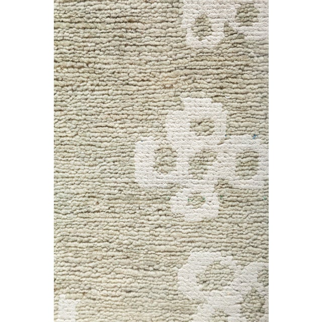 """New Silver Hand-Knotted Rug - 5' 10"""" x 8' 5"""" - Image 3 of 3"""
