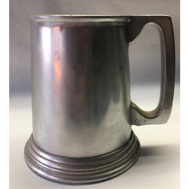 Wonderful vintage pewter classic style Noggin' tankard. Mint condition. Never used.