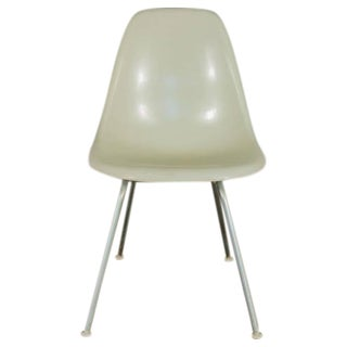 Charles and Ray Eames for Herman Miller White Shell Chair For Sale