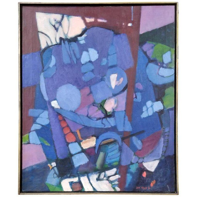 Lois Foley Abstract Painting For Sale In San Francisco - Image 6 of 6