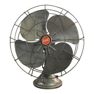 Vintage Industrial Art Deco Diehl Fan.