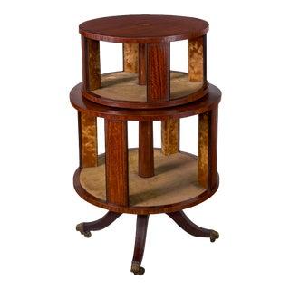 Regency Revolving Bookcase, 19th Century For Sale