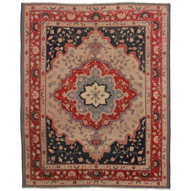 RugsinDallas Hand Knotted Turkish Rug - 7′10″ × 9′9″ - Image 1 of 2