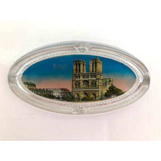1940s Paris Souvenir Ashtray For Sale - Image 4 of 7