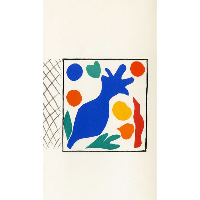 """Henri Matisse """"Coquelicots"""" Henri Matisse. From """"Verve Vol. 35/36"""" (1958) For Sale - Image 4 of 4"""