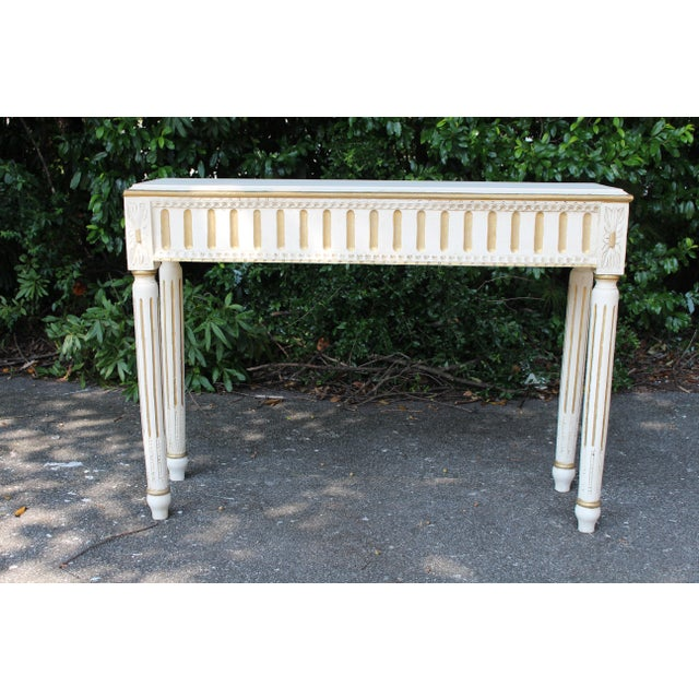 Swedish Console Table For Sale - Image 4 of 7