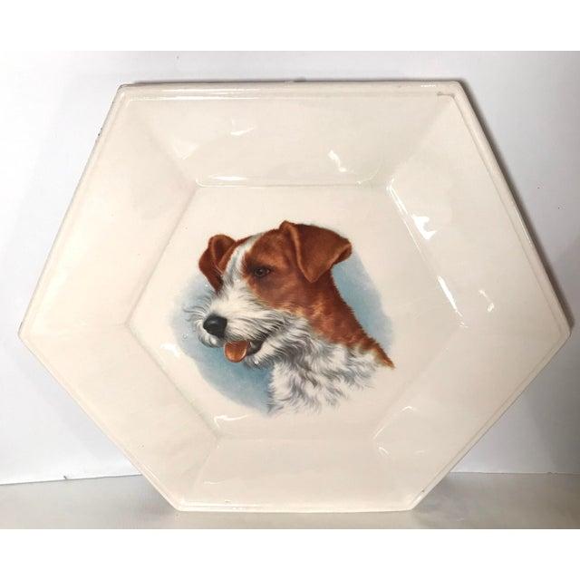 Vintage Ceramic Dog Plates - Set of 4 For Sale In Dallas - Image 6 of 11