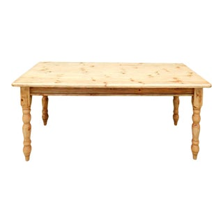 1990s Farmhouse Dining Table For Sale