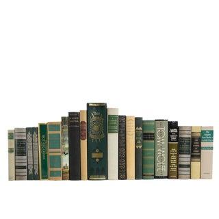 "Set of Twenty Decorative Books ""Tall"" World Classics"