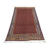 Image of Vintage Turkish Kilim Rug- 4′6″ × 7′9″ For Sale