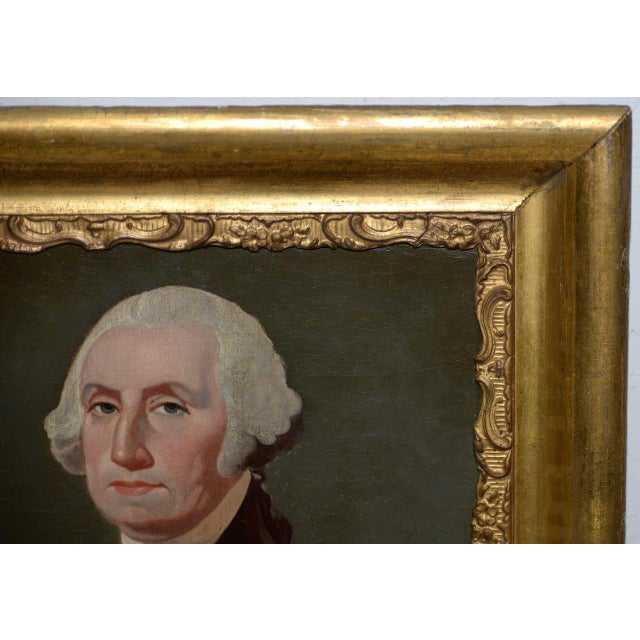 Early 19th Century Oil Portrait of George Washington c.1837 Brilliant early 19th century oil painting of our first...